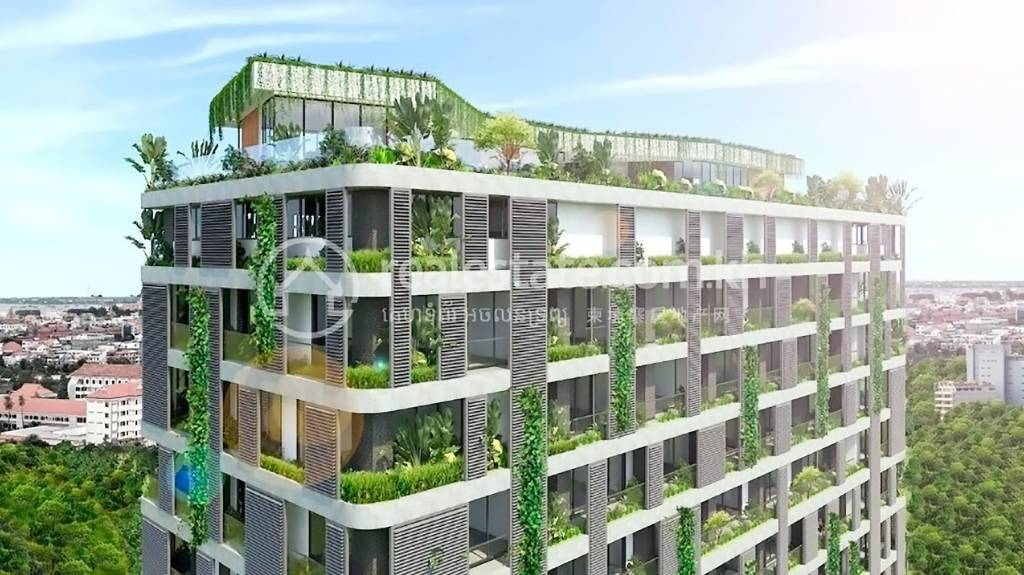 Modern apartments in Phnom Penh